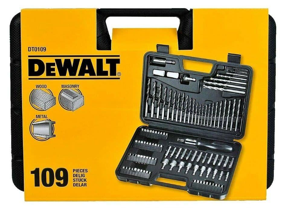 DEWALT 109 Piece Round Drill Bit Set £20.38 @ Costco (Gateshead)