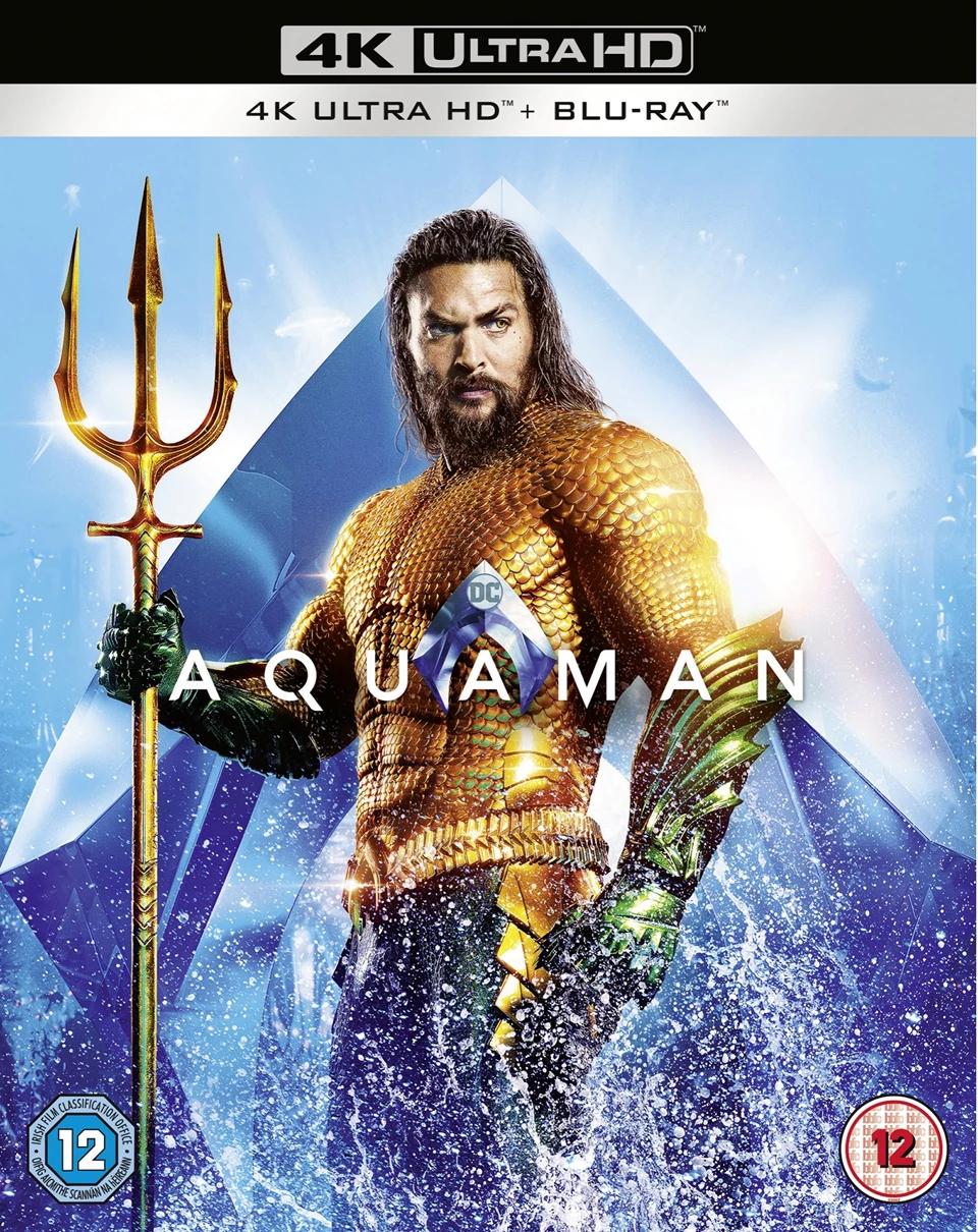 4K Blu-rays £9.99 Each with code - Aquaman / Wonder Woman / Man Of Steel / Jigsaw / Batman vs Superman Ultimate Edition (£2 delivery) @ HMV