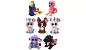 Beanie Boos £1.50 each (Free Collection / Limited Stock) @ Argos
