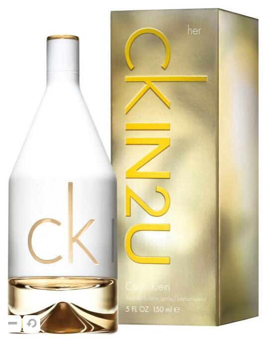 Calvin Klein CK IN2U Women 150ml Eau de Toilette Spray for Women £15.56 delivered with code @ perfumeplusdirect / ebay