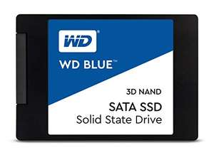 WD Blue 3D NAND Internal SSD 2.5 Inch SATA - 1 TB, Blue - High Performance £80.49 @ Amazon