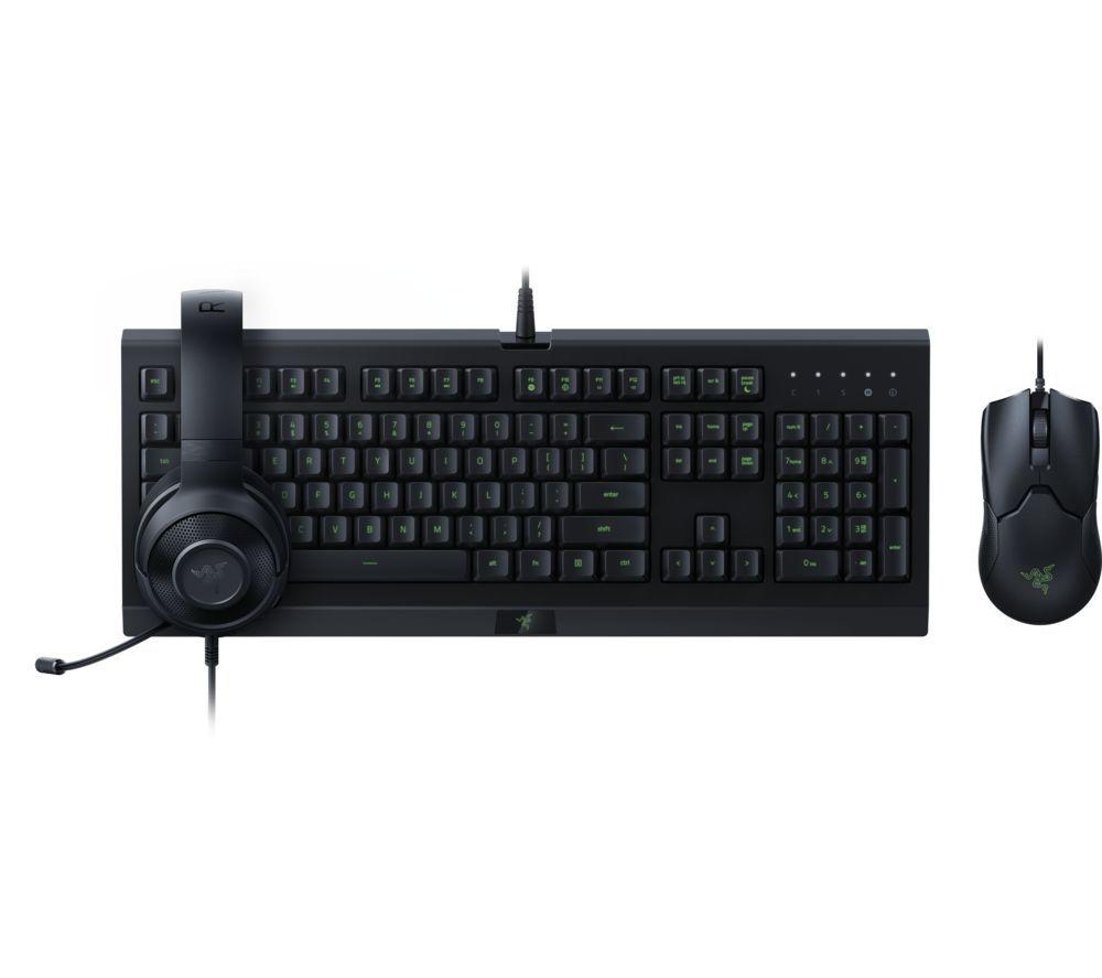 Razer Power Up Gaming Bundle - Gaming Mouse / Keyboard / Gaming Headset (Damaged Box) £59.39 w/ code (UK Mainland) @ currys_clearance / eBay