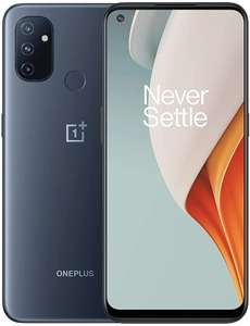 "OnePlus Nord N100 Midnight Frost 6.25"" 64GB 4GB Unlocked Smartphone - £120.59 with code @ Buyitdirectdiscounts / Ebay"