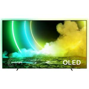 "Philips 55OLED705 55"" Smart Ambilight 4K Ultra HD Android OLED TV £979 (UK mainland) at ao"