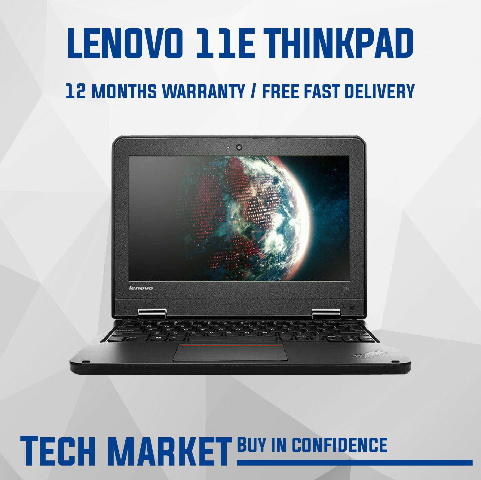 "Refurbished LENOVO THINKPAD 11E 11.6"" (3RD GEN) CHEAP WINDOWS LAPTOP 8GB RAM 128GB SSD - £143.99 @ eBay / techmarket-deals"