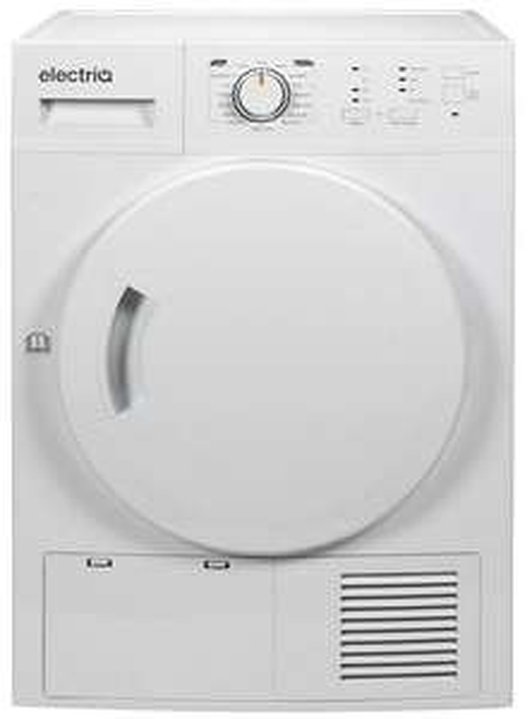 electriQ 8kg Heat Pump Tumble Dryer - White £242.96 delivered with code @ buyitdirectdiscounts / ebay