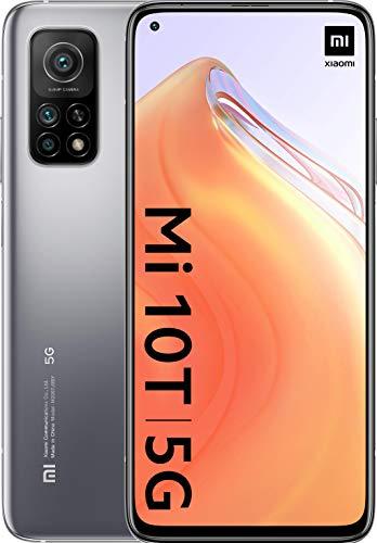 Xiaomi Mi 10T 5G Silver 128GB+6GB (SD865, 144Hz Display, 5000mAh, 64MP Camera) - £268.61 (UK Mainland) @ Amazon Spain