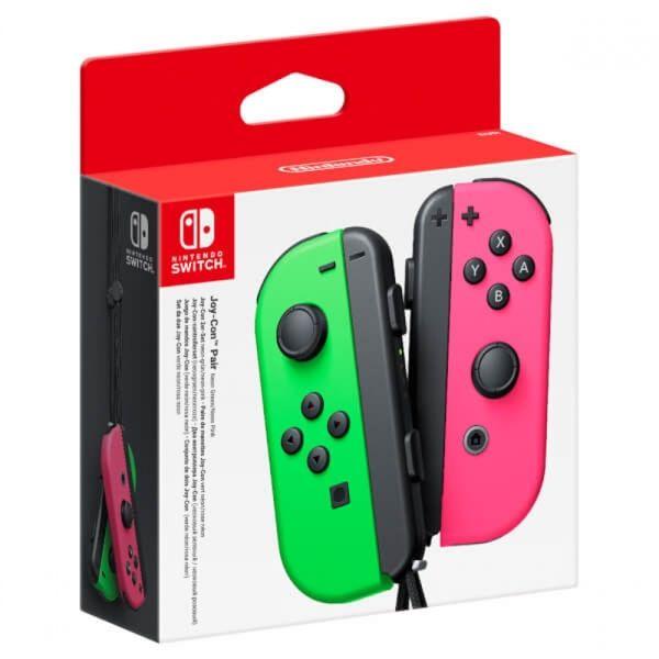 Nintendo Switch Joy-Con Controller Pair (Neon Green/Neon Pink) Splatoon - £51.29 @ 365games.co.uk