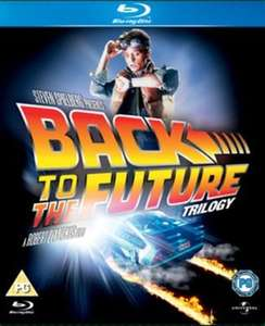 Back to the Future trilogy Bluray £4.99 delivered at Music Magpie