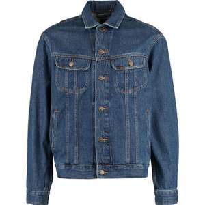 Lee Jeans Blue Mid Wash Rider Denim Jacket for £27.99 click & collect (£29.99 delivered) @ TK Maxx