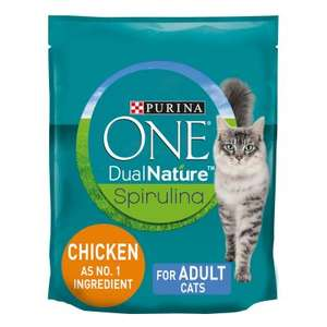 Purina ONE DualNature Chicken Dry Adult Cat Food 2.8kg - £6 instore @ ASDA Falkirk