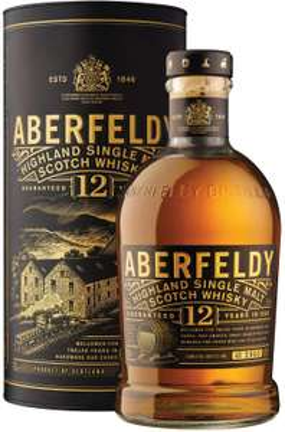 Aberfeldy 12 Year Old Single Malt Scotch Whisky £23.08 @ Tesco Batley