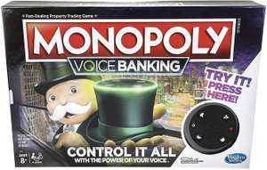 Monopoly Voice Banking from Hasbro Gaming - 2-4 Players £11.49 delivered @ Argos / ebay