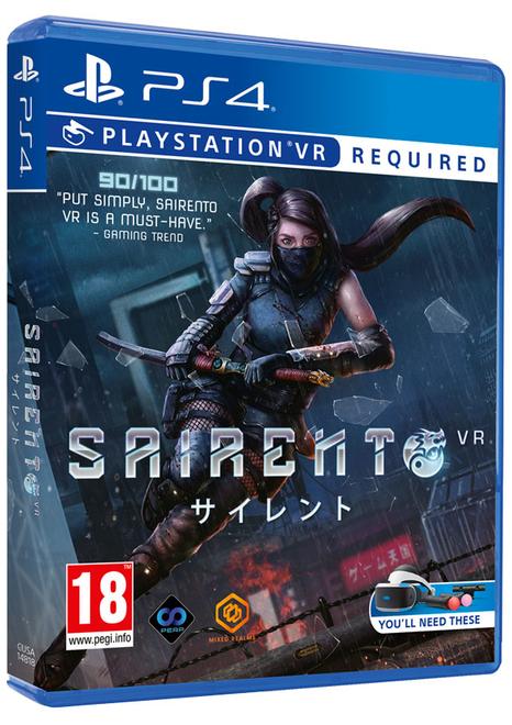 Sairento VR £5.85 / Wolfenstein Cyberpilot VR £4.85 Delivered @ Shopto