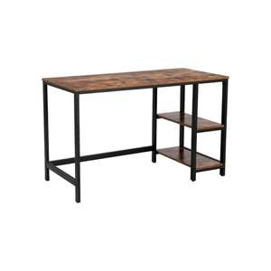 Vasagle Computer Desk LWD47X in Rustic Brown £42.05 with code @ Songmics