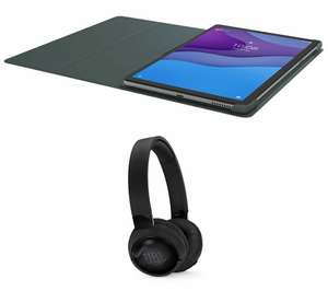 "LENOVO Tab M10 10.3"" FHD IPS 330nits 4GB RAM+128GB Tablet, Sleeve & JBL Wireless Headphones Bundle, £189.05 at Currys/ebay"