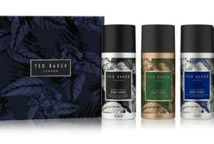 Ted Baker Body Spray Trio Gift Now £6.25 + £1.50 Click and collect (Free on £15 Spend) From Boots