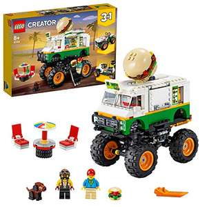 LEGO 31104 Creator 3in1 Monster Burger Truck £24.31 delivered at Amazon
