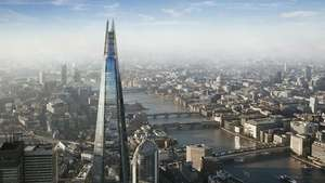 The View from The Shard Entry for Two £42 (E-Voucher) @ Red Letter Days