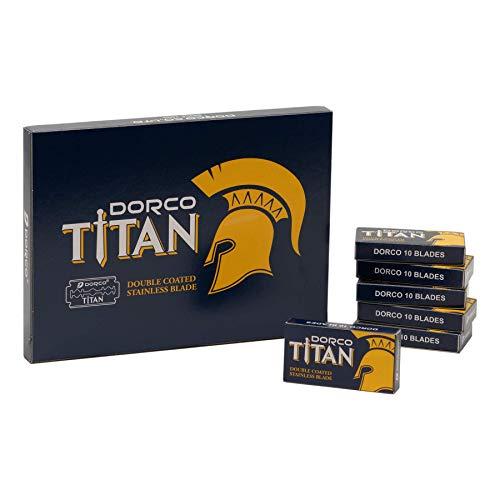 DORCO Titan 100 Double Edge Razor Blades £2.99 / £7.48 Non-Prime @ Amazon