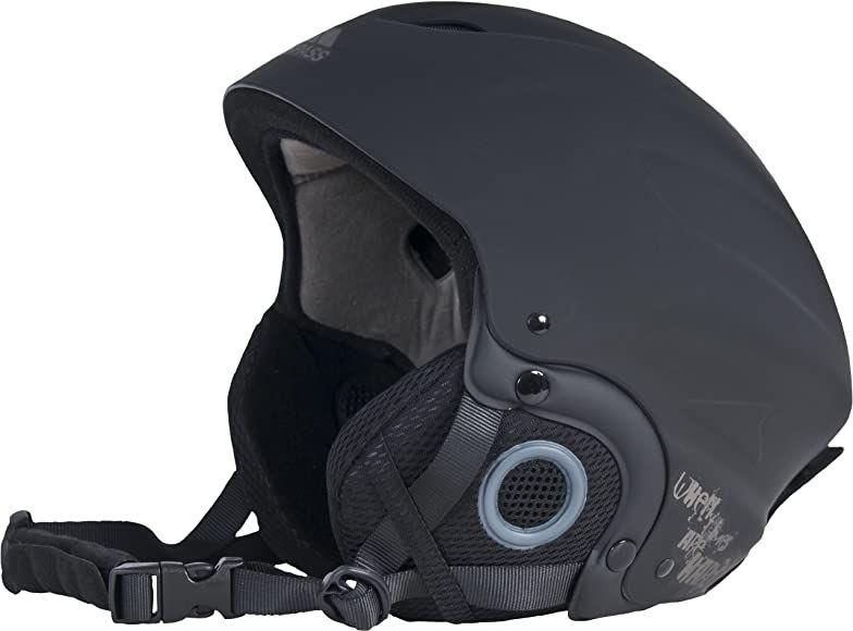 Trespass Sky High Snow Sport Helmet , BBlack, size M - £7.33 (+£4.49 non prime) @ Amazon
