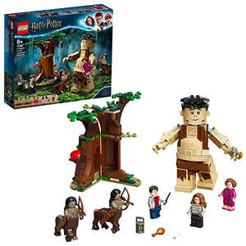 LEGO 75967 Harry Potter Forbidden Forest: Umbridge's Encounter Building Set with Giant Grawp and 2 Centaur Figures £18.19 + £4.49 @ Amazon