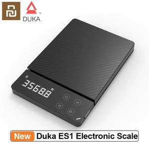 Xiaomi ecosystem Duka ES1 High Precision Kitchen Electronic Scale up to 3kg for £11.23 VAT & delivery @ AliExpress / Xiao_Mi Online Store