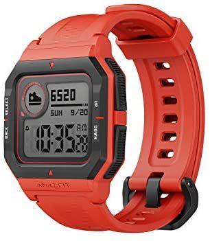Amazfit Neo - Smartwatch Orange 37 Day Battery 5ATM Tracker - £16.80 + £4.49 NP (UK Mainland) - Sold By Amazon EU @ Amazon
