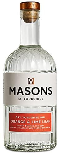 Masons Orange and Lime Leaf Gin - 70cl Premium London Dry Gin Distilled with Orange and Lime Leaf £21.65 at Amazon