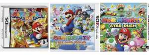 Preowned: Mario Party: Island Tour 3DS £10 / Mario Party: Star Rush 3DS £10 / Mario Party DS £15 in-store (+£1.95 p&p online) @ CeX
