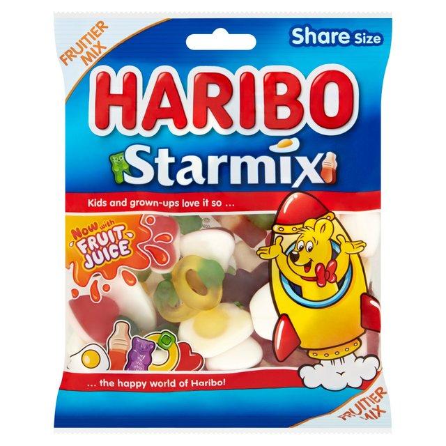 Haribo 175g Share Bags: Starmix, Supermix, Strawbs, Tangfastics, Goldbears, Starbeams, Squidglets 79p In Store & Online @ Morrisons