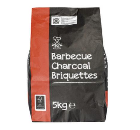 Big K / CPL Barbecue Charcoal Briquettes 5Kg - £3.49 instore @ Lidl