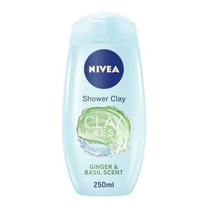 Nivea Shower Clay 250ml reduced to 50p instore @ Asda Small Heath