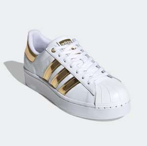 Women's Superstar Bold Trainers Now £38.23 with code on Adidas app - Free delivery with Creators Club @ Adidas