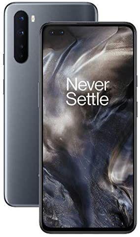 OnePlus NORD (5G) 8GB RAM 128GB SIM-Free Smartphone with Quad Camera, Dual SIM and 2 Years Warranty - Onyx Grey – £349.99 @ Amazon