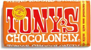 Tony's Chocolonely (8 varieties) 180g bars £2.80 (min spend + delivery cost) @ Ocado