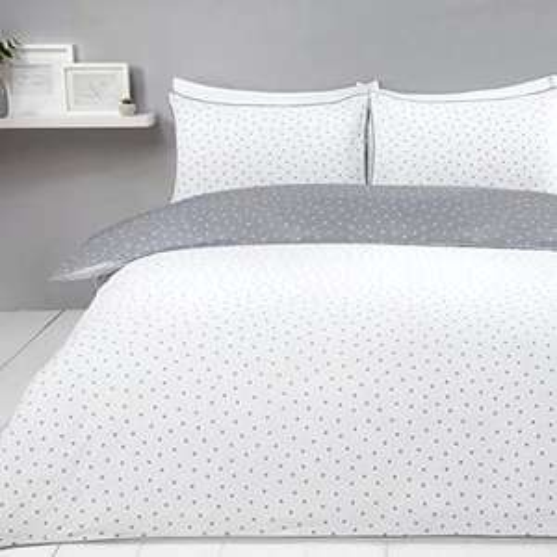 Sleepdown King size duvet cover set- Grey £10.44 Prime (+£4.49 Non Prime) @ Amazon