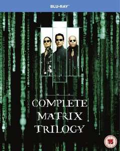 The Matrix Trilogy Blu-Ray (used) £4.89 delivered @ Music Magpie