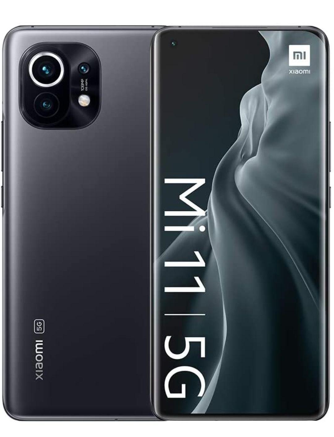 Xiaomi Mi 11 256GB Smartphone + 4GB Data - £22pm / £19 Upfront - £547 @ Three