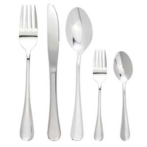 20 Piece Stainless Steel Cutlery Set - £9.94 delivered @ Roov