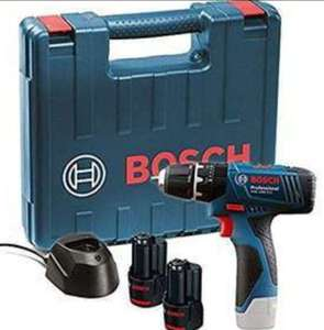 Bosch GSB 120 - LI Professional 12V with 2 x 1.5 Ah Batteries with Charger and Carry Case - £66.99 @ Amazon