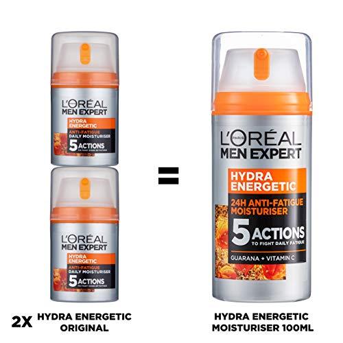 L'Oréal Paris Men Expert Hydra Anti-Fatigue Moisturiser Big Pack 100ml - £7.45 (only £5.59 with S&S) (+£4.49 non Prime Delivery) @ Amazon