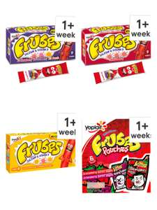Various Frubes products £1 @ Tesco (clubcard price)