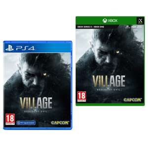 Resident Evil Village PS4 with free PS5 upgrade / Xbox One - £39.99 delivered w/code @ Currys PC World