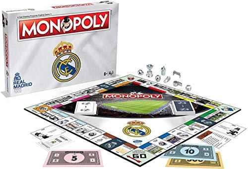 Real Madrid Monopoly Board Game - £11.07 Prime +£4.49 Non Prime at Amazon