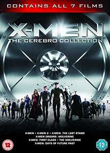 X-Men - The Cerebro Collection dvd - 7 Films (used) £3.23 delivered with code @ World Of Books