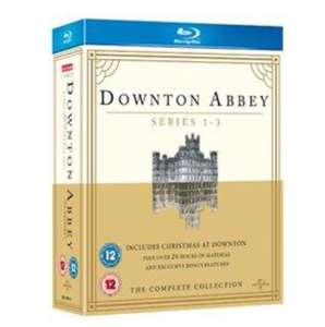 Downton Abbey: Series 1-3/Christmas at Downton Abbey Blu-ray £3.42 / delivered with newsletter sign up code @ Rarewaves