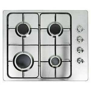 electriQ 60cm Stainless Steel 4 Burner Gas Hob £71.96 delivered with code @ buyitdirectdiscounts / ebay