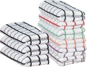 1 x Premium 100% Cotton Jumbo Terry Tea Towel - Random Colour 99p delivered @ debnam_house / ebay
