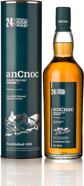 anCnoc 24 Year Old Single Malt Scotch Whisky 70cl - £110.64 at Amazon